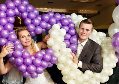 Ballons für Hochzeiten